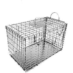 Tomahawk Model 306DD - Transfer Cage with Top Door and Sliding Door - Cat/Raccoon Size