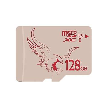 BRAVEEAGLE 128GB Tarjeta Micro SD Tarjeta de Memoria microSD Micro SDXC para Dash CAM/Gopro/Switch (128GB UHS-I 3)