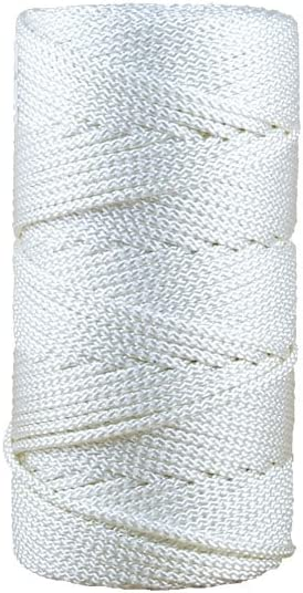 Corde De Polyester Haute Resistance 5Mm 200M Blanc