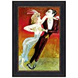 Design Toscano Modern Couple Dancing, 1922: Canvas Replica Painting: Grande