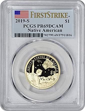 2019-S Sacagawea Native American Dollar PR69DCAM PCGS First Strike