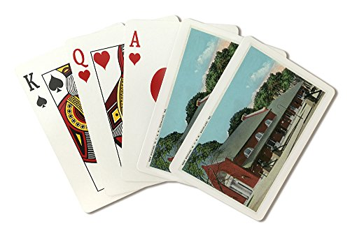 Rockland, Maine - Maine Central Railroad New Station (Playing Card Deck - 52 Card Poker Size with Jokers)