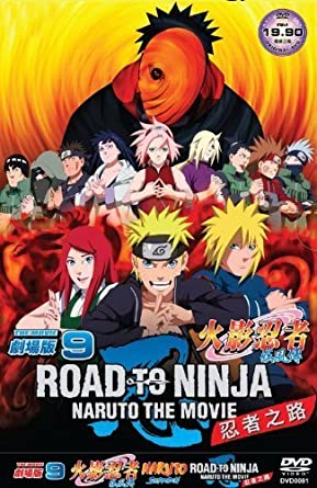 Naruto Movie 9: Road to Ninja All Region Slipcase Edition ...