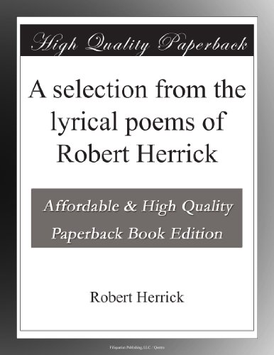 Books by Robert Herrick