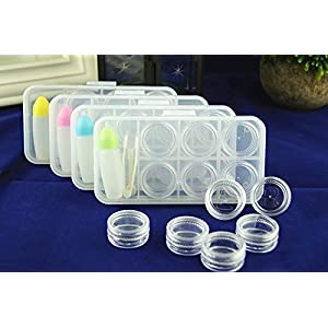 New pattern Contact lens case, travel suit (6-Pack o)