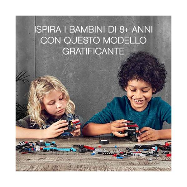 """LEGO Technic Truck e Moto dello Stunt Show, con Azione """"pull-Back"""", con 2 Modelli da Costruire ed Infinite Possibilità di Gioco, per Ragazzi +8 Anni, Appassionati e Collezionisti, 42106 4 spesavip"""
