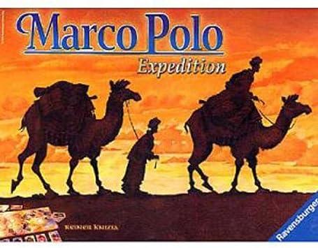 Marco Polo Game: Knizia, Reiner: Amazon.es: Juguetes y juegos