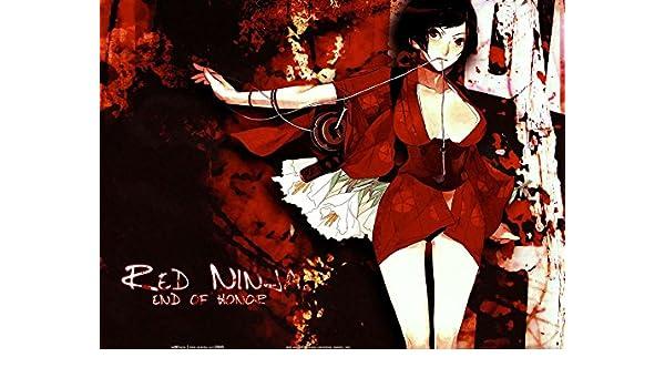0-HOA862 Red Ninja Kurenai Akemi Mochizuki Chiyome 47cm x ...