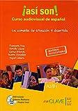 img - for Asi son!: Asi son! Curso audiovisual de espanol. Libro + DVD (A2-B1) book / textbook / text book