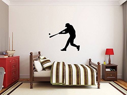 Maxx Graphixx Baseball Player Wall Decal - 29