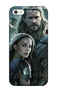 Hot Tpu Cover Case For Iphone/ 5/5s Case Cover Skin - Thor 2 The Dark World 2013
