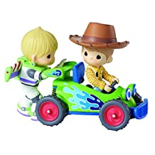 """Precious Moments 161101 Disney Showcase Collection, Toy Story Music Box, LED Lights, Plays """"You've Got A Friend In Me"""", Figurine"""