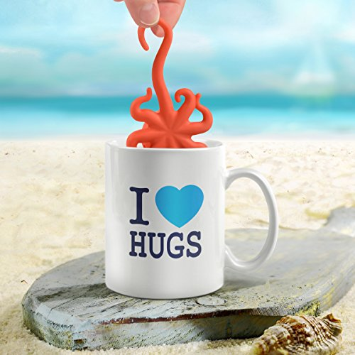 Fred octeapus octopus tea infuser kitchen in the uae see prices reviews and buy in dubai - Octopus tea infuser ...