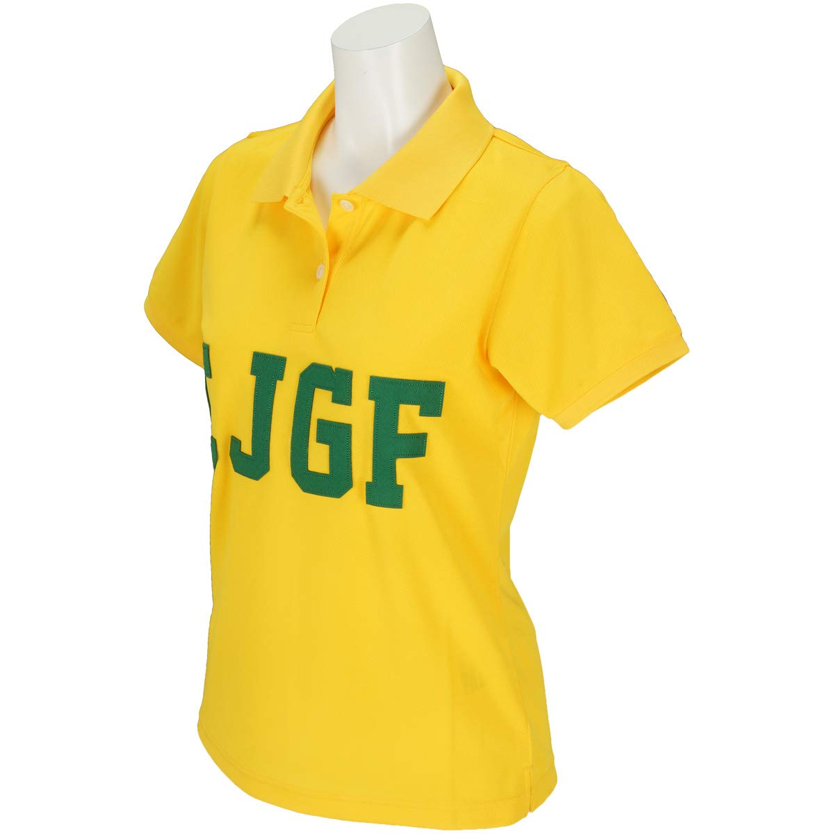 カジェヘラ CALLEJERA 半袖シャツポロシャツ CJGF 半袖ポロシャツ レディス 1 イエロー B07RWK1VH2
