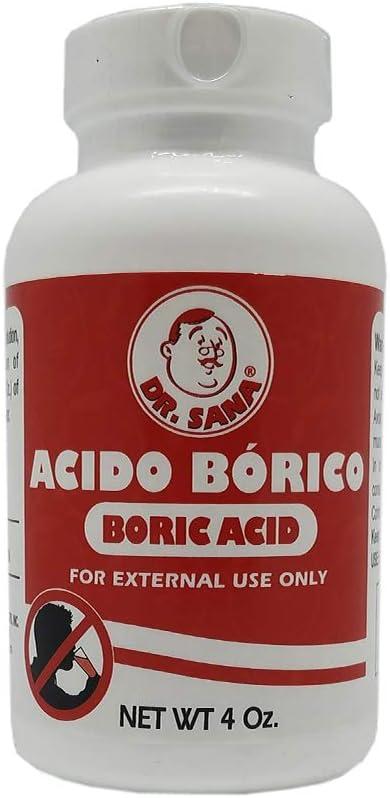 como preparar desodorante con acido borico