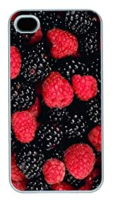 sell cases berries PC White Case for iphone 4/4S