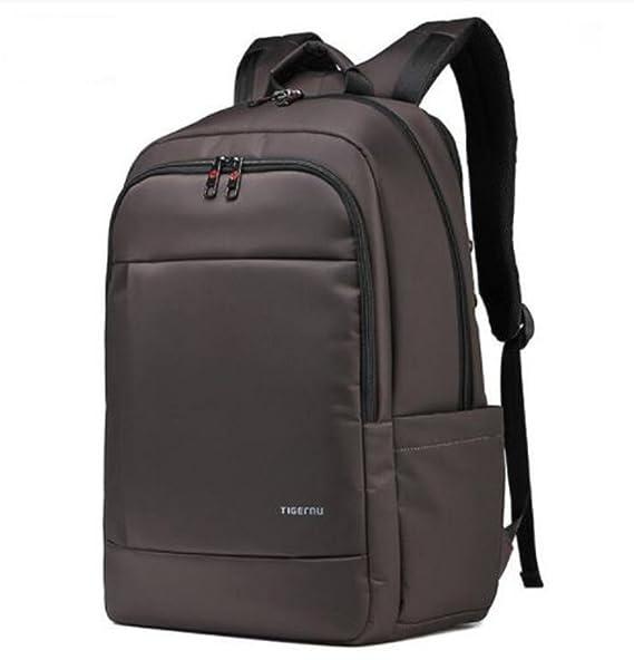 Tigernu Laptop Backpack 17.3 pulgadas Laptop resistente al agua Anti-Theft  Zip School Business Mochila Bolsas 081025f6ce5e2