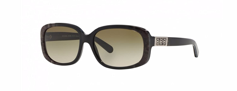 27c9e36dca85 Amazon.com: Michael Kors Delray Sunglasses MK6011 301713 Green Snake Smoke  Gradient 56 16 135: Shoes