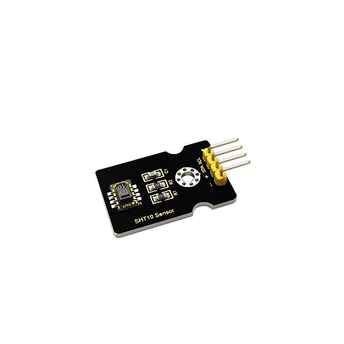 KEYESTUDIO SHT10 Temperature and Humidity Sensor Module 5V Humidity Temp Monitor Digital Signal Output for Arduino Raspberry Pi Platforms