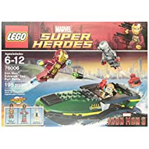 LEGO Super Heroes Iron Man: Extremis Sea Port Battle - 76006