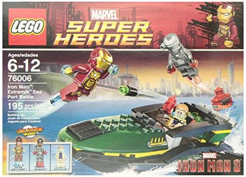 Superhero Iron Man (LEGO Super Heroes Iron Man Extremis Sea Port Battle (76006))