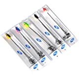 """Five Pack of Alabama Style Umbrella 5 Arm 5 1/2"""" Rigs,"""