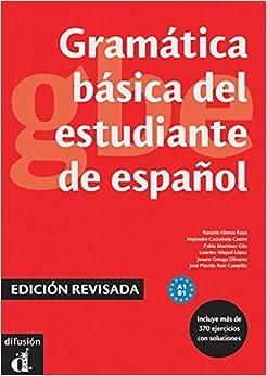 Book Gramática básica del estudiante de español