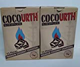 COCO-URTH CUBES: 2 BOXES - 100% Coconut Hookah Charcoal (72 CUBE PIECES in 1 box)-