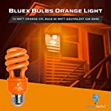4 Pack BlueX CFL Orange Light Bulb 13W - 50-Watt