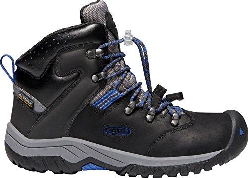 II Mid Waterproof Winter Boots, Black/Baleine Blue, 7 M US Little Kid ()