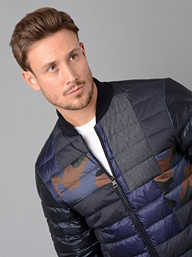 Philippe Down Mens Jacket Blue in Jacket Bomber Moncler Tqg1zx