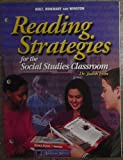 Reading Strategies for the Social Studies Classroom, Holt, Rinehart and Winston Staff, 0030653541