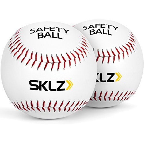 SKLZ Soft Cushioned Safety Baseballs, 2 Pack ()