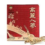 [Medicinal Korean Herb] Premium Korean Koryeo Ginseng 4 Years Old (Renshen/고려 인삼) Dried Bulk Herbs 300g (50 Roots)