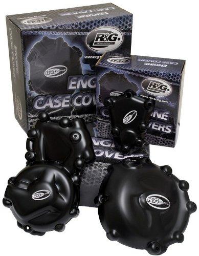 R&G(アールアンドジー) クランクケースカバー ブラック YZF-R1(07-08) RG-ECC0027BK   B005JWK9BE