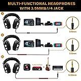 OneOdio Wired Over Ear Headphones Studio Monitor