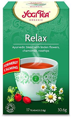 Yogi Tea Relax 17 teabags (Pack of 6, total 102 teabags)
