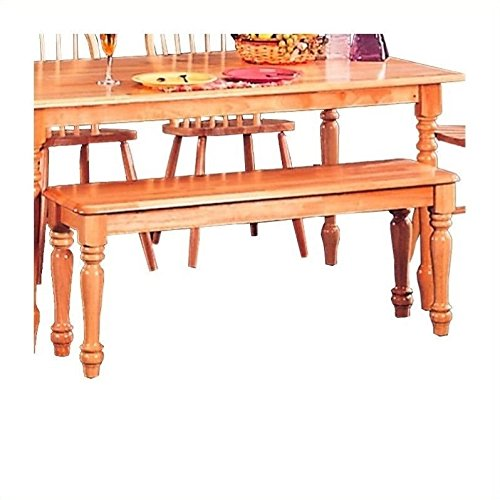 Country Dining Table - Coaster Home Furnishings Country Bench, Natural