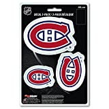 NHL Team Decal, 3-Pack