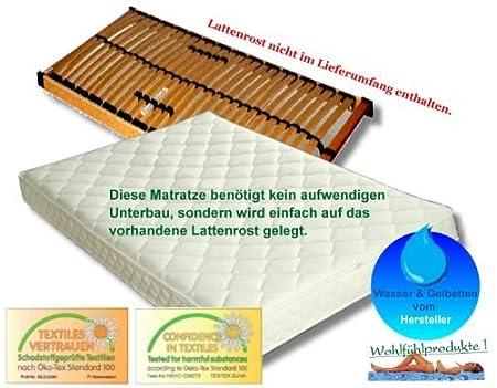Firma Knowhow gelbett Colchón Softs Aerosleep 100 x 200 Cama de Agua Gel Colchón para somier: Amazon.es: Hogar