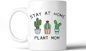 Stay At Home Plant Mom Coffee Mug Mother's Day Present- 11OZ Coffee Mug