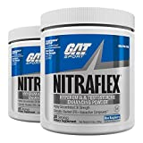 Cheap GAT Clinically Tested Nitraflex, Testosterone Enhancing Pre Workout Pack of Two 30 Servings (BlueRaspberry 2 x 30svg)