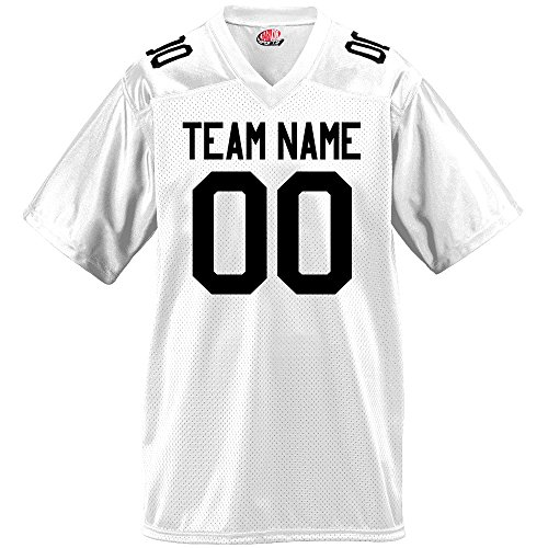 Gameday Mens Fan Wear Custom Football Jersey Adult X-Large in White