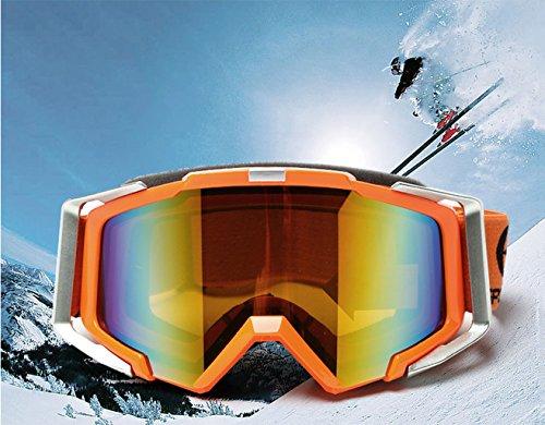 Alpinismo D antideflagrante Exteriores Protección Material para Gafas PC Ciclismo Solar esquí 6vnUx0t