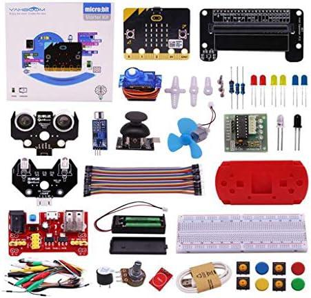 B Baosity DIY学習キット 子供用 BBCマイクロ:ビット基本スターターキット  - Microbit付き
