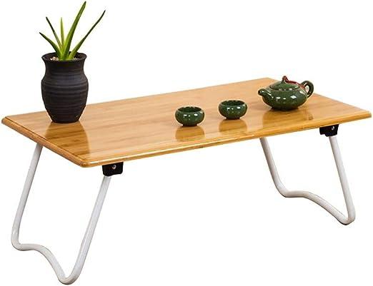 XIAOYAN Mesa para Laptop Plegable Cama Pequeño Escritorio Mesa De ...