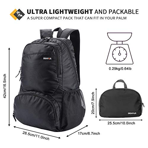 Travel Lightweight Hiking Backpack Foldable Daypack Small Packable Day Pack