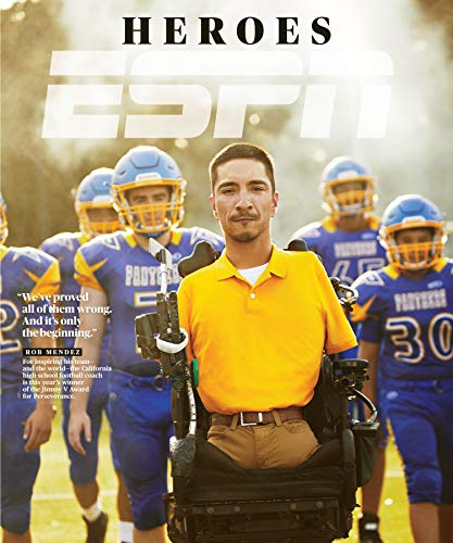 ESPN magazine July 2019 {The Heroes Issue} { Postal label on front}