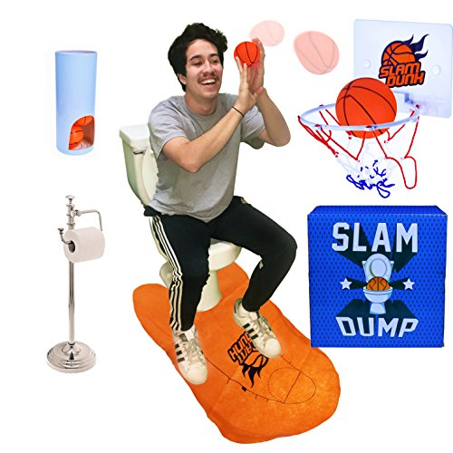 Dad Gifts Gag Gifts Presents SLAM DUMP Challenge - The Competitive Toilet Humor Game. Funny Christmas Gifts Perfect for Stocking Stuffers