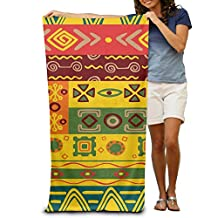 2017 New Style Beach Towels Color Retro Cartoon Comfortable
